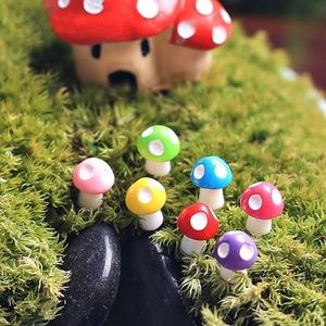 NWOT Lot of 5 Mushroom Mini Fairy Garden Terrarium